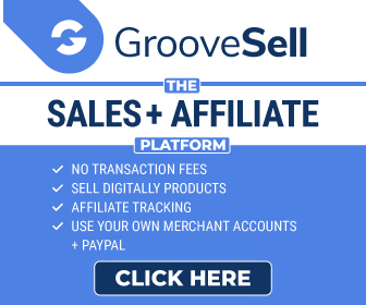 GrooveSell sales and affiliate marketing platform