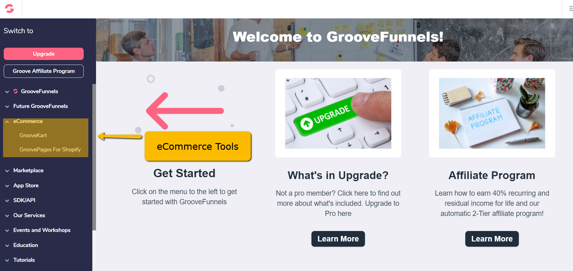 GrooveApps for eCommerce