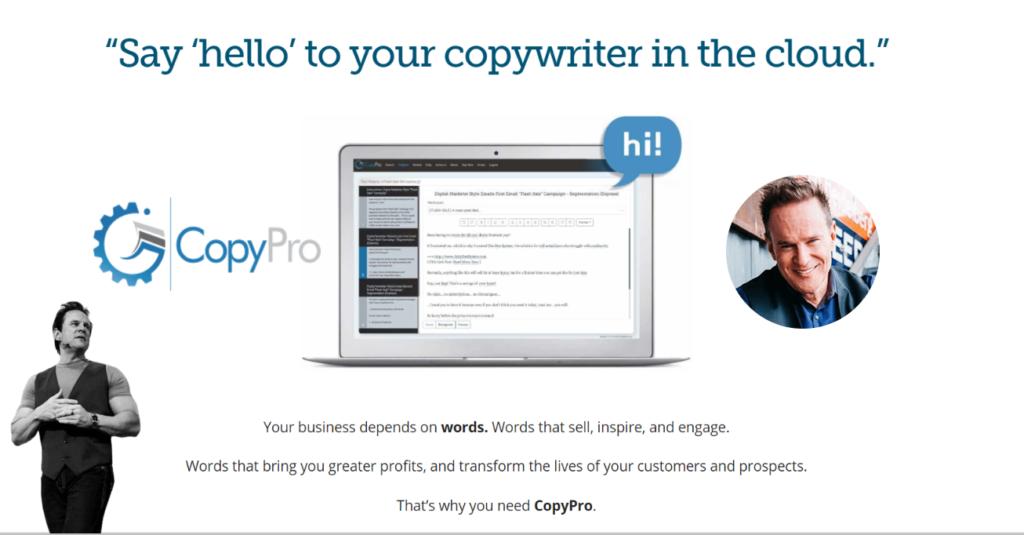 CopyPro Copywriting Automation Software