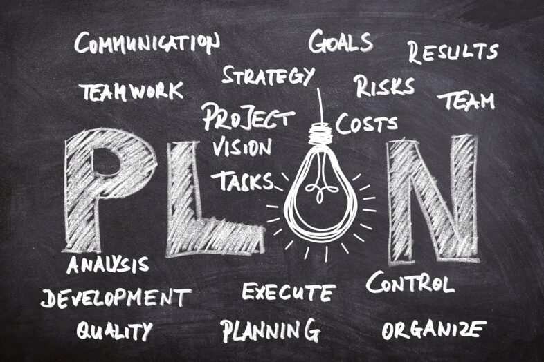 Business marketing strategy planning